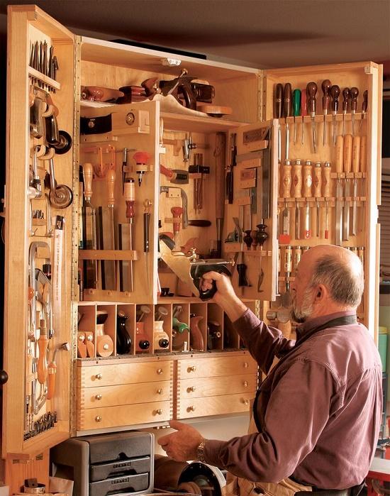 Шкафы дома своими руками